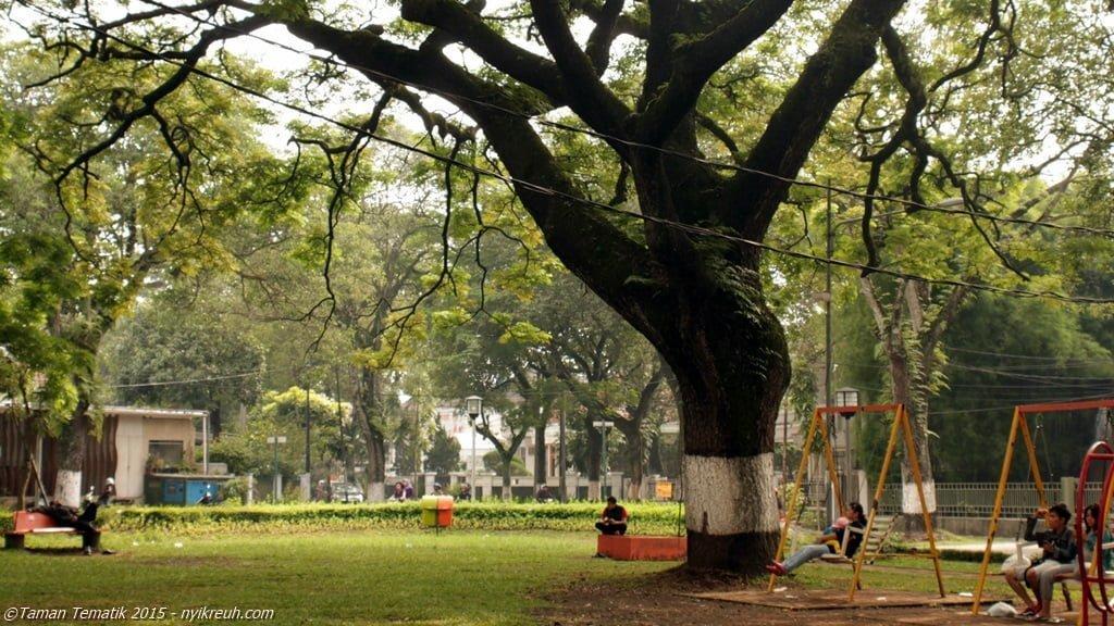Taman yang dulunya bernama 'Taman Anggrek'