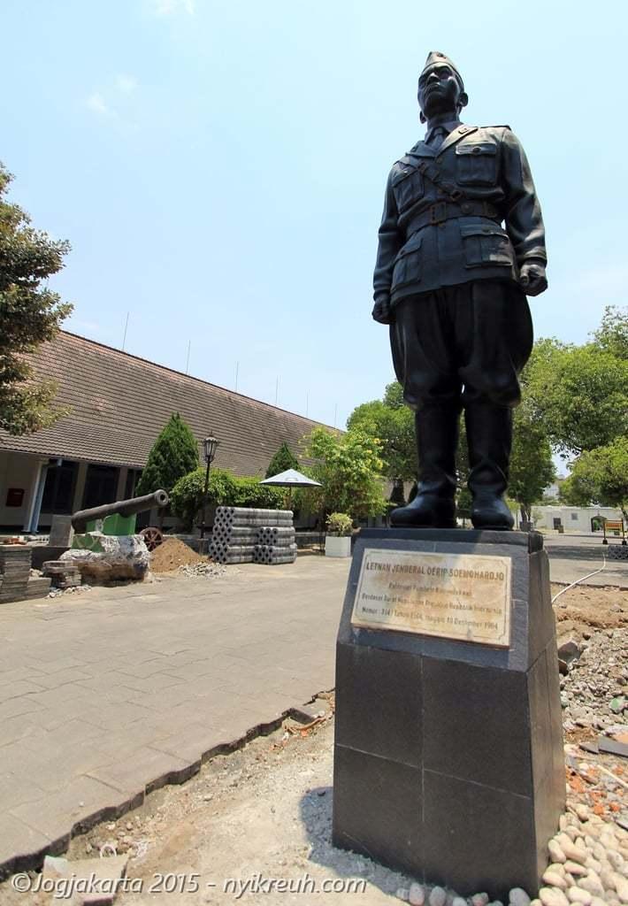 Patung di Museum Benter Vredeburg Yogyakarta