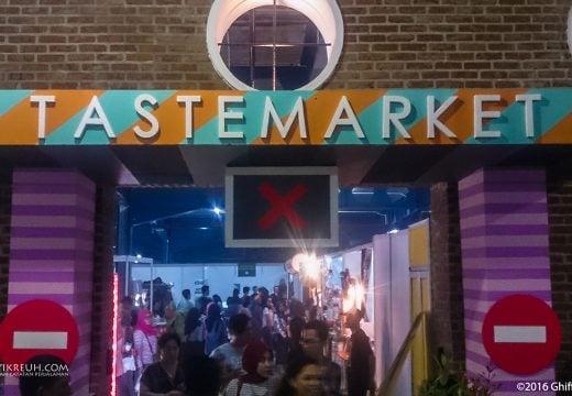 Pintu Keluar Taste Market 2016