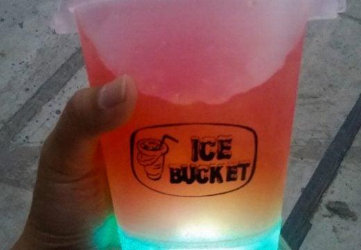 Ice Bucket, Minuman yang menyala