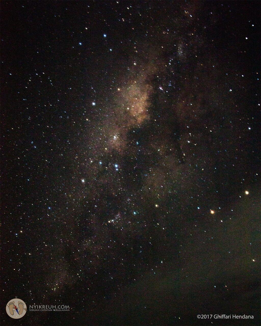 Milky Way, hal yang jarang bisa kita lihat di perkotaan