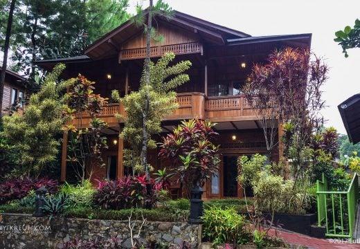Penampakan salah satu villa di Jambuluwuk