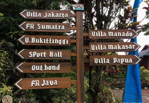Berbagai vila yang disesuain sama rumah adat di Indonesia
