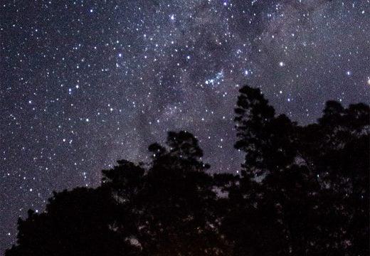 Milky way yang bisa langsung dilihat oleh mata sendiri