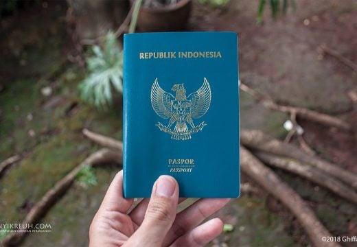 Buku paspor Republik Indonesia