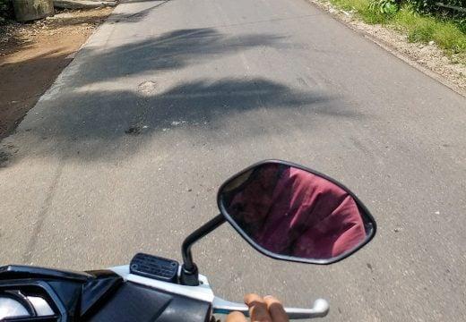 Perjalanan lintas provinsi menuju Pacitan