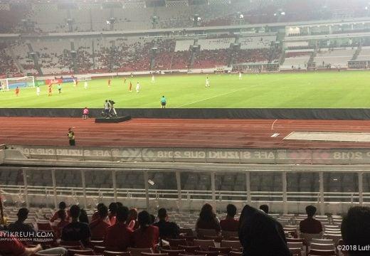 Stadion yang digunakan saat timnas ujicoba