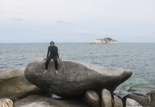 Pulau Bebatuan di Belitung