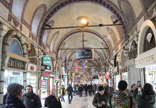 Grand Bazaar Istanbul Turki
