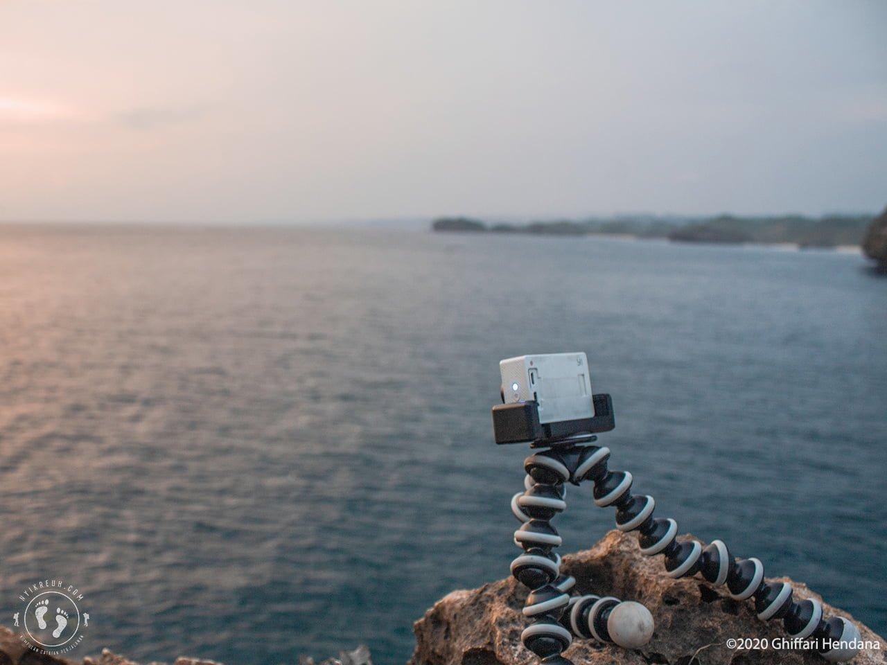 Gorillapod untuk menunjang teknik long exposure