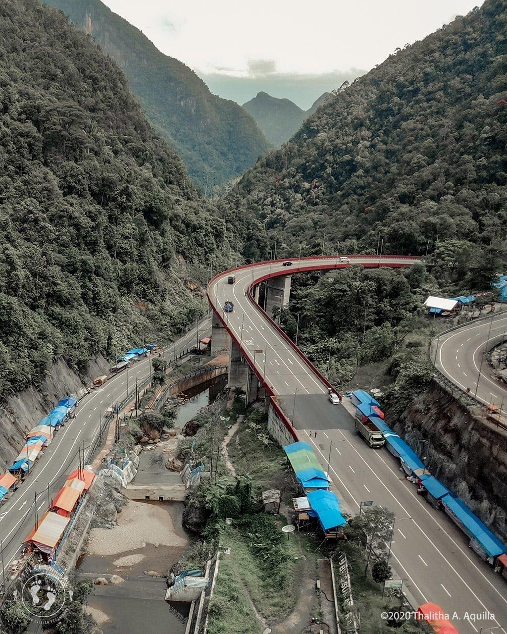 Jembatan Layang Kelok 9 Sumbar
