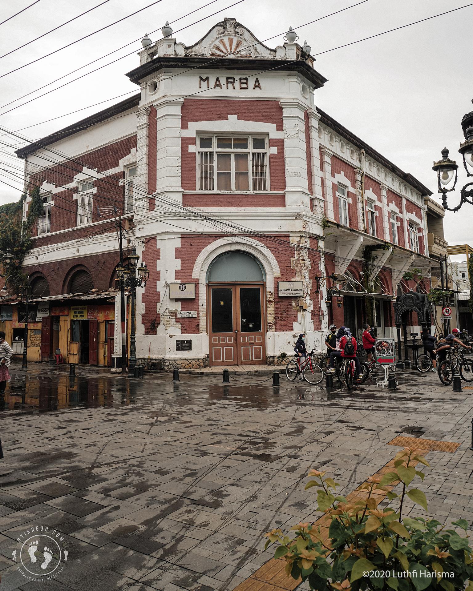 Marba, Bangunan Autentik Khas Kota Lama