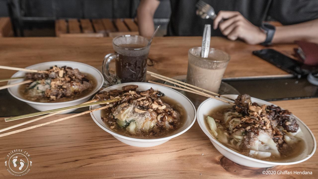 Mie Ongklok dan Purwaceng, kuliner khas Wonosobo