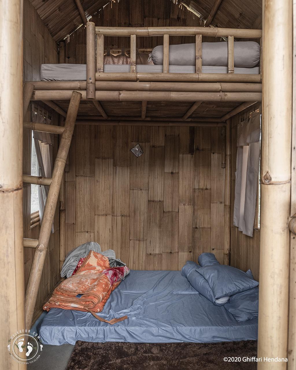 Kondisi Kamar hostel Mikroba