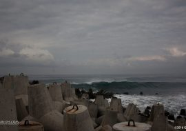 Ucapan Selamat Datang dari Pantai Glagah (Jogja Road Trip #1)