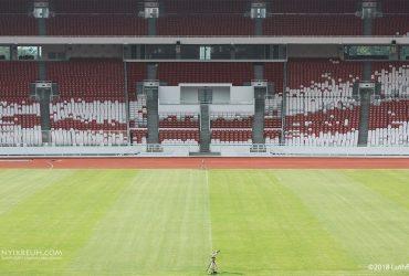 Stadion Utama Gelora Bung Karno dan Seluruh Kemegahannya