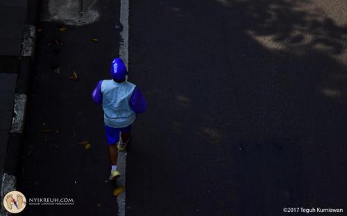 Lari pagi dulu biar sehat