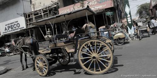 Delman, transportasi yang Jogja banget