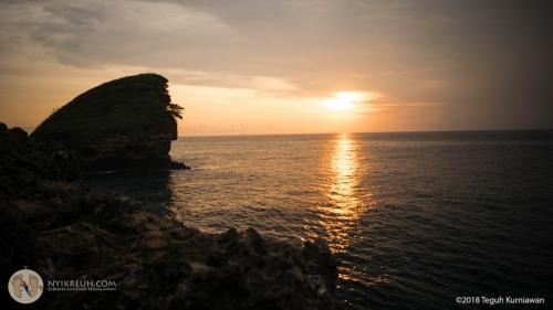 sunset mantap